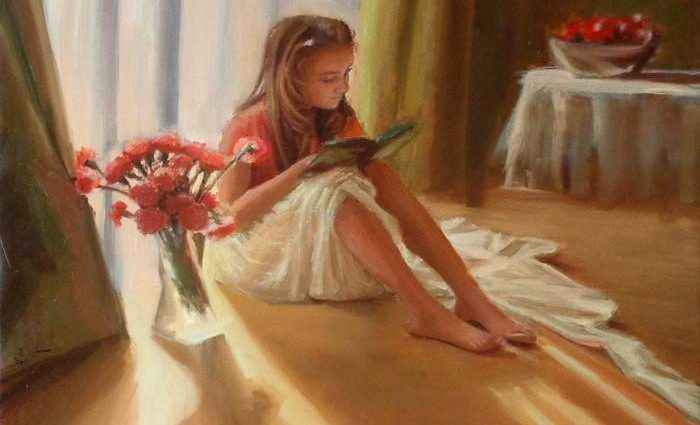 Британский художник. Anna Menguit 1