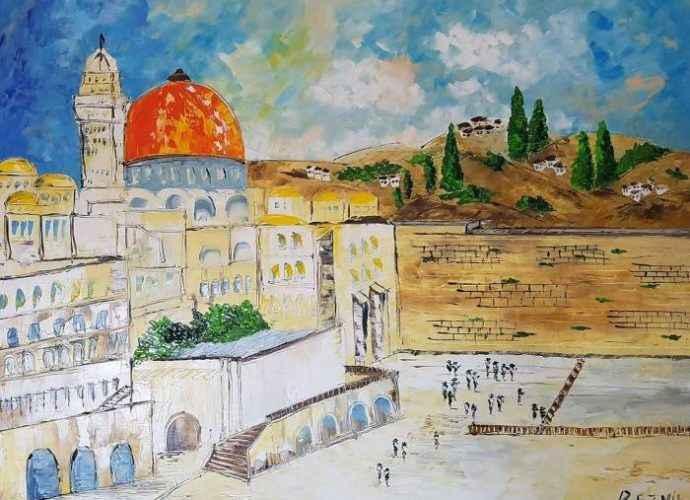 Израильский художник. Anna Reznik 95