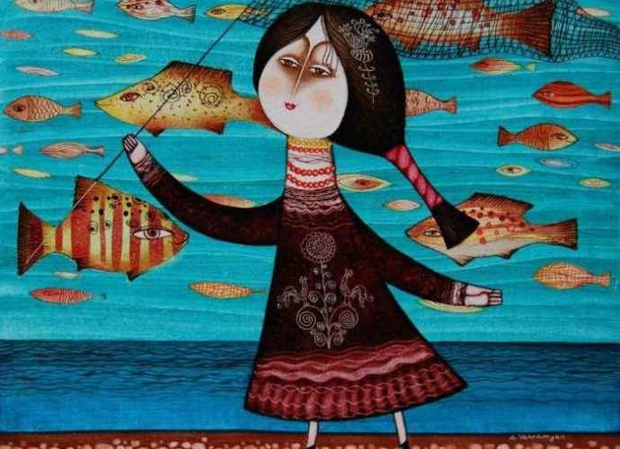 Армянский художник. Armen Vahramyan 80