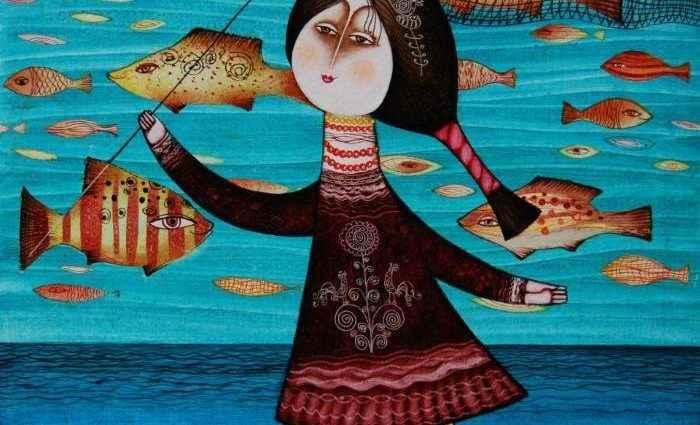 Армянский художник. Armen Vahramyan 1