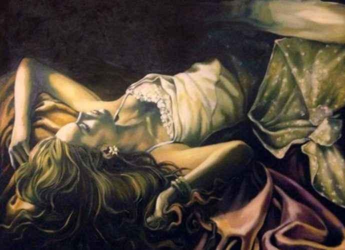 Повествовательный стиль. Иранский художник. Bahareh Kamankesh 89