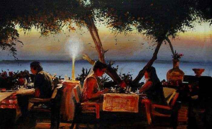 Британский художник. Barry Westcott 1