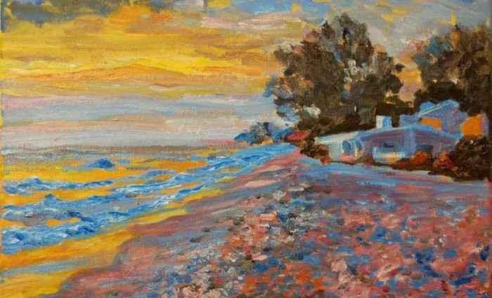 Сочетание импрессионизма и абстракции. Bertram Poole 1