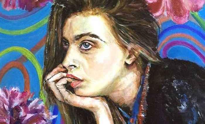 Портреты на шелке. Bettina Newbery 1