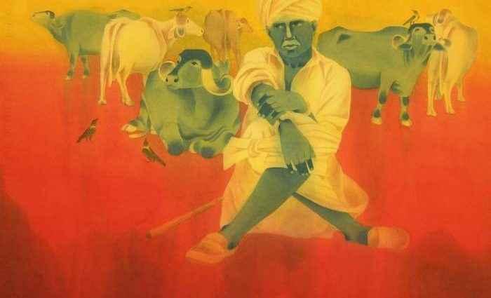 Современный индийский художник. Bhavesh Zala 1
