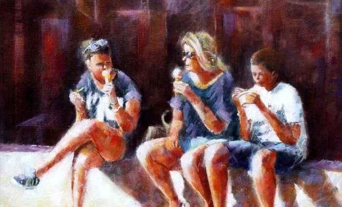 Британский художник. Brian Halton 1