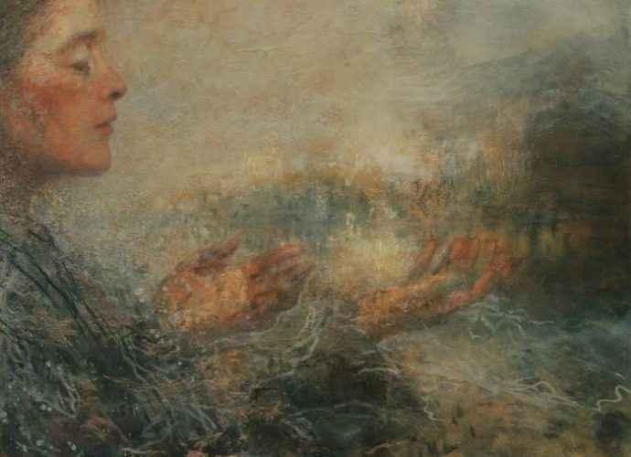 Эмоциональные портреты и фигуративные композиции. Candace Charlton 47