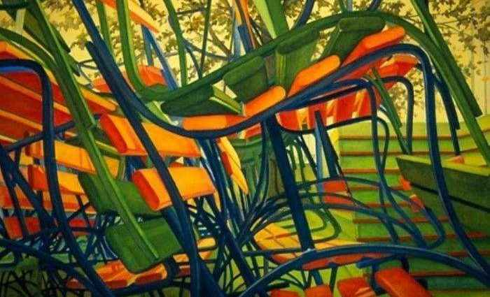 Изысканность линий и форм. Carol Ann Schrader 1