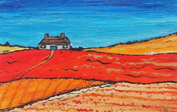 Пейзажи сельской Шотландии. Caroline Duncan 133