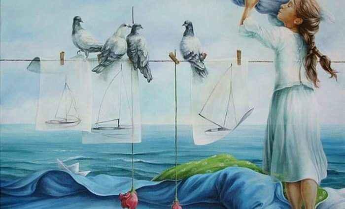 Испанский художник. Chelin Sanjuan 1