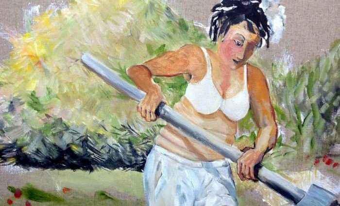 Британский художник. Chris Walker 1