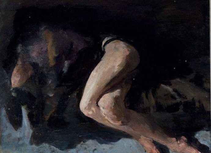 Греческий художник. Christos Pallantzas 126