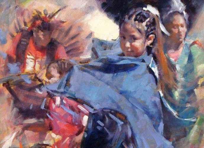 Смесь импрессионизма с реализмом. Clement Kwan 81
