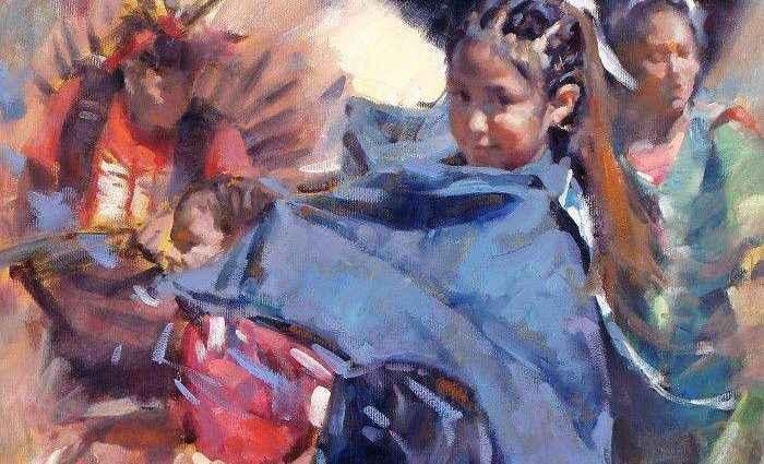 Смесь импрессионизма с реализмом. Clement Kwan 1