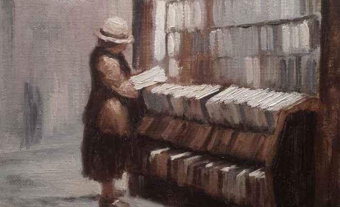 Британский художник. Constantino Baas 1