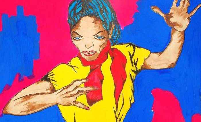 Сплав из немецкого экспрессионизма, фовизма и американского попа. Corina Rodriguez Anievas 1