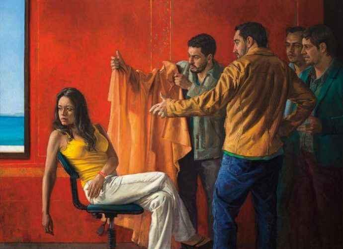 Колумбийский художник-самоучка. Dario Ortiz 123