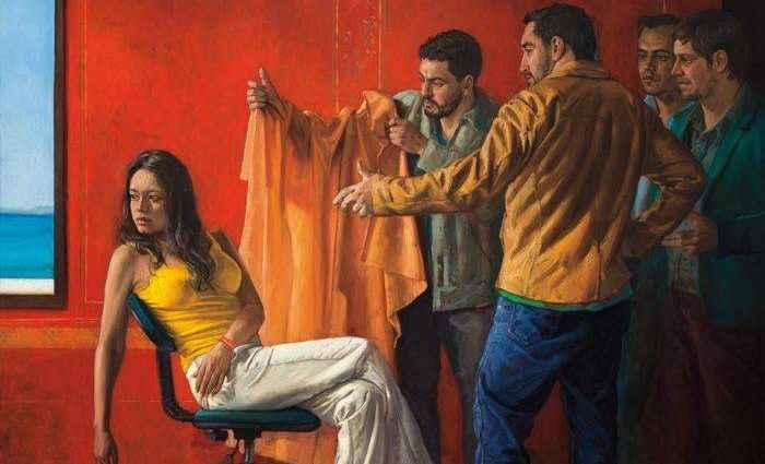 Колумбийский художник-самоучка. Dario Ortiz 1