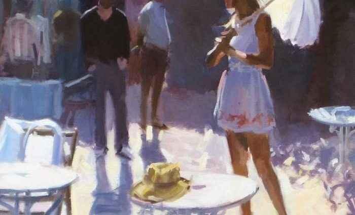 Британский художник. David Farrant 1