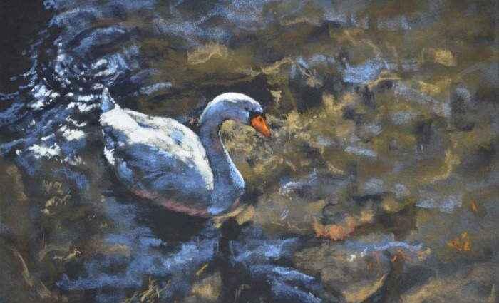 Британский художник. Denise Mitchell 1