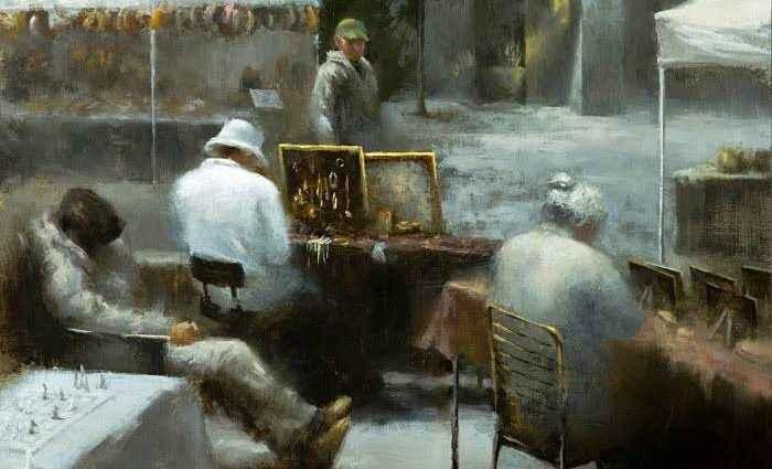 Корейский художник. Doohong Min 1