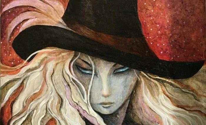 Темная и таинственная живопись. Dori Hartley 1