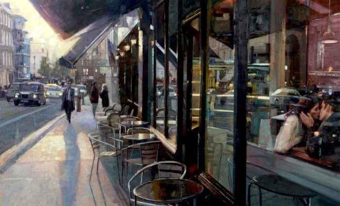 Британский художник. Douglas Gray 1