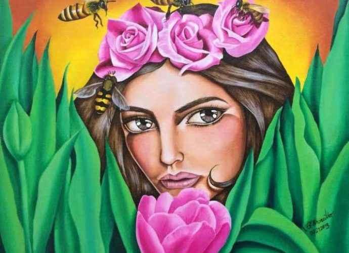 Филиппинский художник. Ella Elenzano Orencillo 140