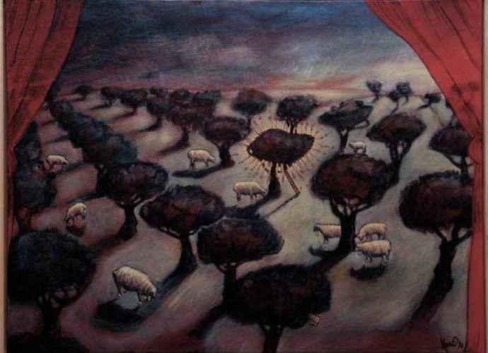 Ирландский художник. Eoin Byrne 65
