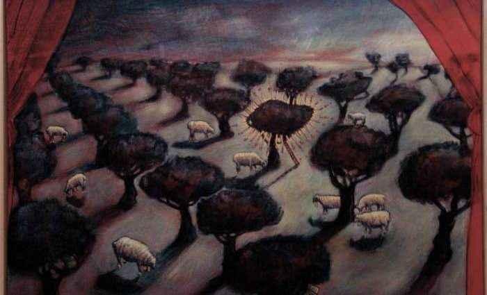 Ирландский художник. Eoin Byrne 1