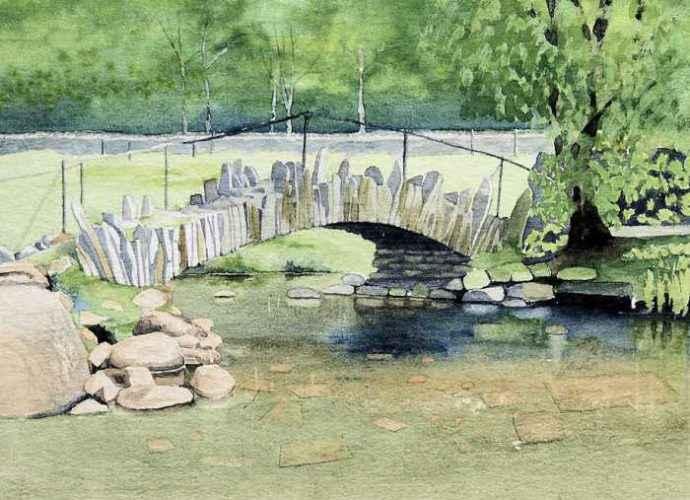 Британский художник-пейзажист. Erik Clewes 188