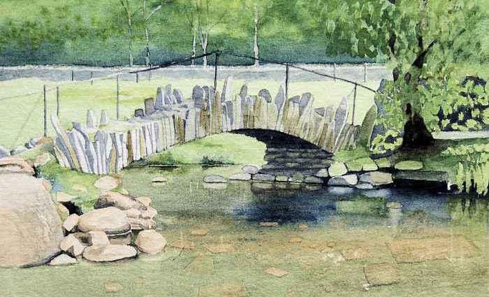 Британский художник-пейзажист. Erik Clewes 1