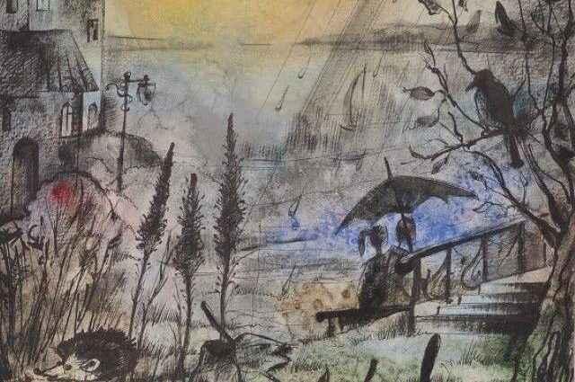 Израильский художник. Евгения Бурда 1