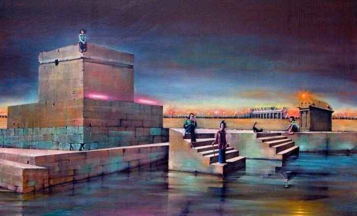 Испанский художник. Fernando Molero 1