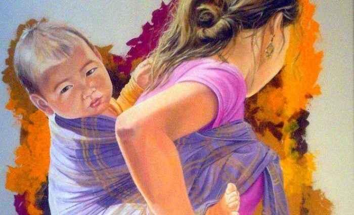Фигуративная живопись. Francesca Escobar 1