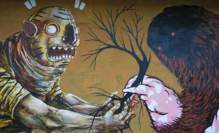 О насилии и биполярности человеческого разума. Franco Fasoli Jaz 1