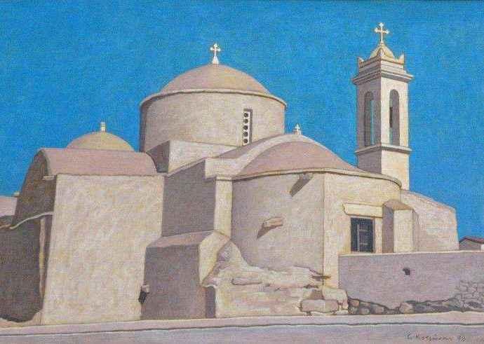Греческий художник. George Kotsonis 128