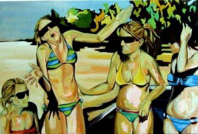 Мексиканский художник. Gretel Joffroy 230