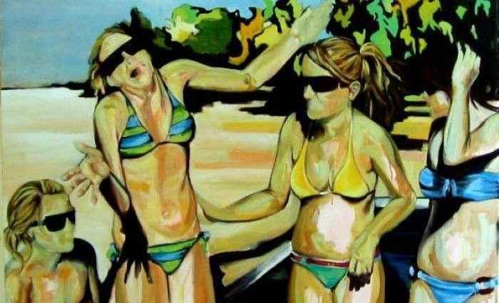 Мексиканский художник. Gretel Joffroy 1