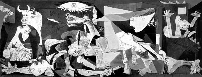 «Герника» Пикассо победила на Международном фестивале скульптур из песка 77