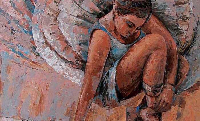 Индийский художник. Gurdish Pannu 1