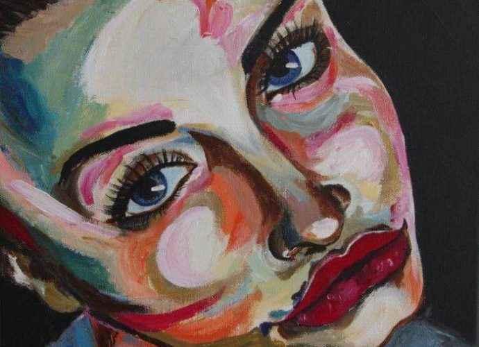 Цветы и лица. Haeran Boehler-Kim 3