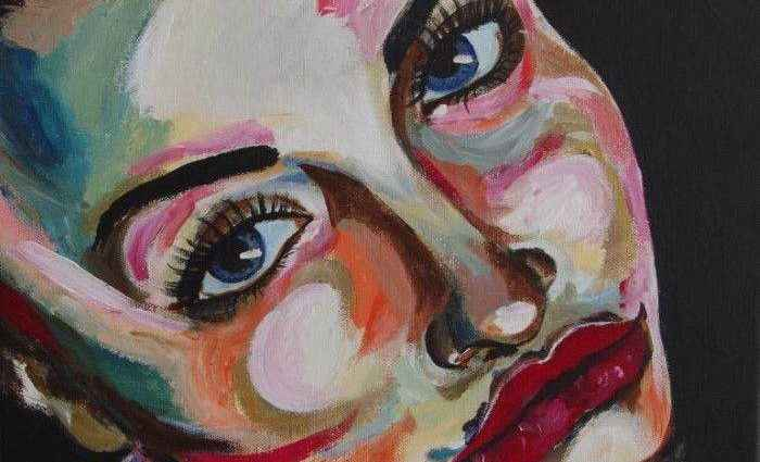 Цветы и лица. Haeran Boehler-Kim 1