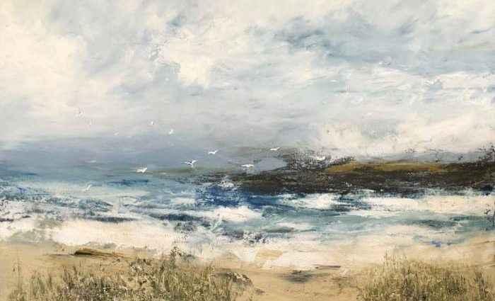 Морской и ландшафтный экспрессионизм. Hettie Pittman 1
