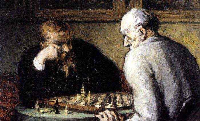 Шахматы в искусстве 1