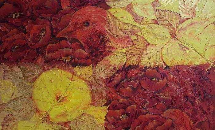 Флористические картины. Юлия Демьяненко 1