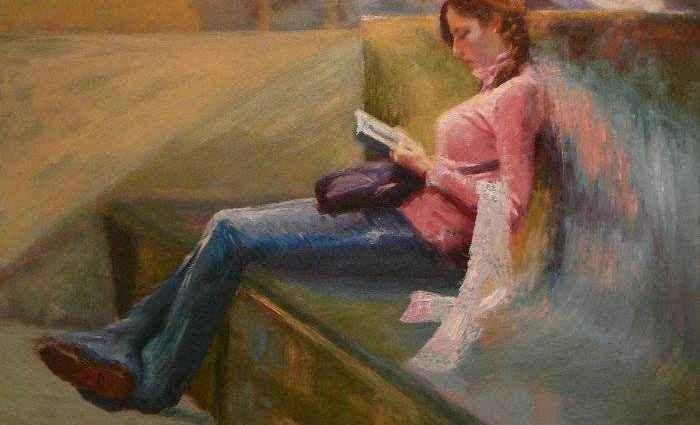 Польский художник. Irena Jablonski 1