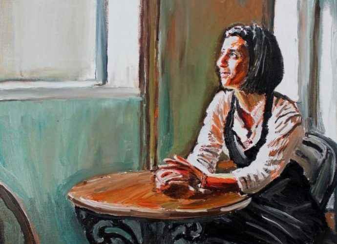Обычные люди. Ирландский художник. James Henry Johnston 69