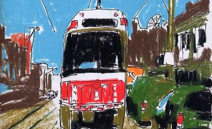Канадский художник. Jerry Waese 1