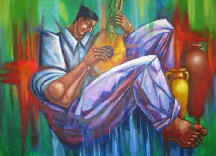 Пуэрторикканский художник. Johann Acevedo 53